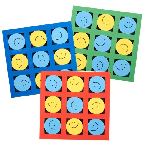 Kostüme 204241 Smiley, Tic Tac Toe ()