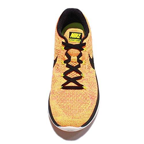 Nike Flyknit Lunar3, Chaussures de Running Compétition Femme Violet - Morado (Vlt / Blck-Brght Crmsn-Brght Mng)