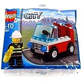 LEGO City: Fireman's Car Set 30001 (Bagged)