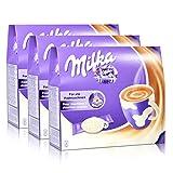 3x Milka für Padmaschinen, 7 Pads + 7 Sticks