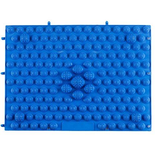 Fußmassage Auflage Größe ca. 29 x 39 cm TPE Kingko (Blau)