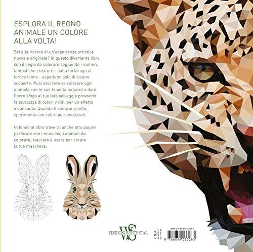 Animali Selvatici 60 Disegni Geometrici In Agguato Colora Tra I
