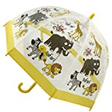 Bugzz Kids Clear Safari Print Umbrella