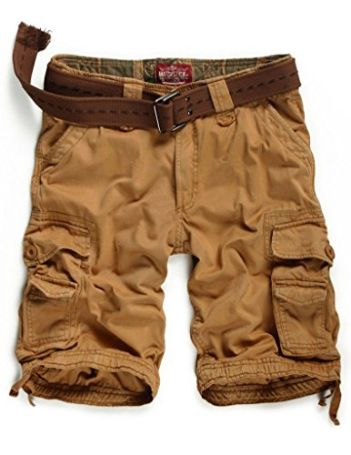 Match Herren Cargo Shorts #S3620 3612 Mud