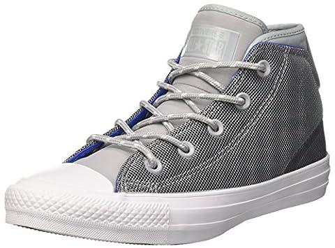 Converse Unisex-Erwachsene Chuck Taylor All Star Syde Street Hohe Sneaker, Grau (Wolf Grey/Black), 40 EU