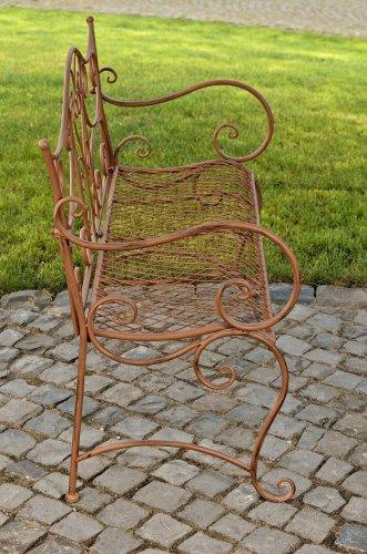 CLP Gartenbank TARA aus lackiertem Eisen