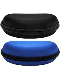 Arena - Estuche para gafas, Azul Negro (Paquete de 2)