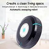 Balayeuse Robot Ménage Auto Robot Cleaner Robot Aspirateur Donner 20 Pièces Microfibre Tissus, Mini Taille 5.5X23 Cm - Style De Charge,Black