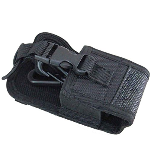 Lorjoy Talkie Walkie Sac & Case Holder MSC-20D Nylon Carry Case pour Kenwood BaoFeng UV-5R UV-5RA UV-5RB UV 5RC BF-888S UV-B6 UV-B5