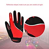 Youngdo Cycling Gloves, Windproof Full Finger Racing Gloves...
