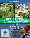 Der große 3D-Dreierpack - Collection 2 [Blu-ray 3D]