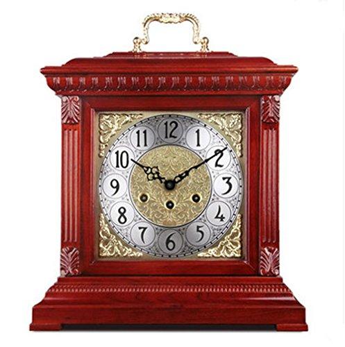 Mädchen Ideen Diy Kostüm (KHSKX Europäische Uhren mechanische Antike Uhr Wohnzimmer Dekoration Idee Uhren Holz Glockenspiel Uhr german le le 5 tone)