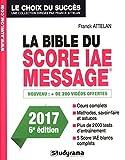 la bible du score iae message 6e ?dition 2017