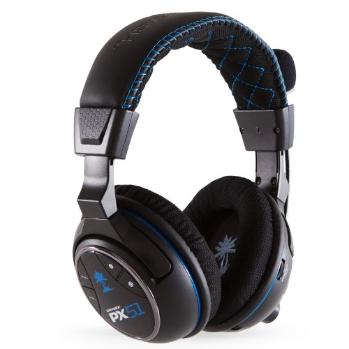 Turtle Beach Ear Force PX51 Wireless - [PS4, PS3, Xbox 360] (Equalizer Receiver)