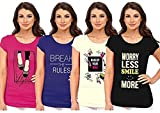 #5: So Sweety Ladies Pack of 4 T Shirt