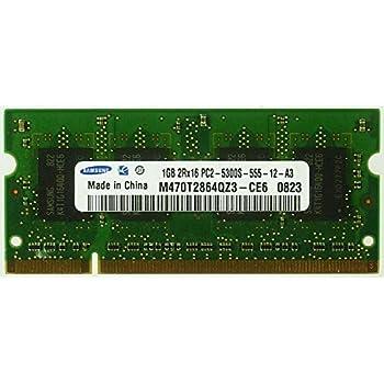 Samsung - Módulo de memoria RAM para ordenador portátil Samsung M470T2864QZ3-CE6 PC2-5300S