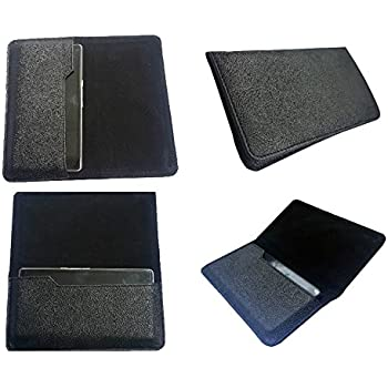 nKarta TM PU Leather Black + Black OG Pouch with Soft Inner Fiber Mobile Cover Case for Samsung Galaxy On5 Pro