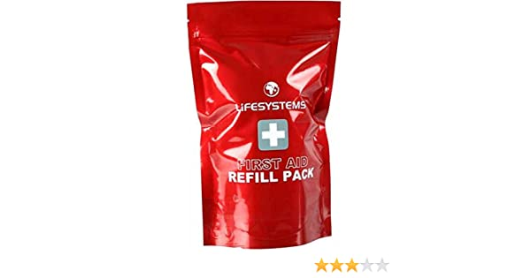 Lifesystems Camping Hiking Emergency Dressing First Aid Refill Pack 27010
