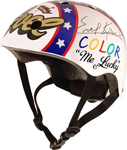Kiddimoto KMH020M - Hero Helm Evel Knievel, Größe M