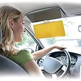 Visera See Clear Vision, parasol para el vehículo, alta definición para una visión perfecta mientras conduces de día o de noche, pantalla con clip de sujeción para todo tipo de coches.