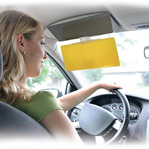 Preisvergleich Produktbild Sonnenblenden-Sichtschutz für Tag- und Nachtfahrten im Auto, HD, Abschirmklappe mit Befestigungsclip