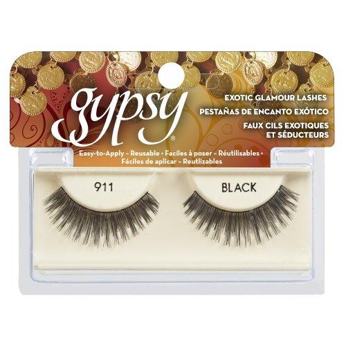 (3 Pack) GYPSY LASHES False Eyelashes - 911 Black