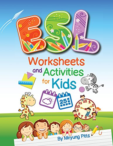 ESL Worksheets and Activities for Kids por Miryung Pitts
