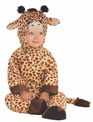 Rubies 510561-T - Disfraz infantil de jirafa para niño, 1-2 años