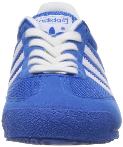 adidas Unisex-Kinder Dragon Low-Top Blau (bluebird/running White Ftw/running White Ftw)