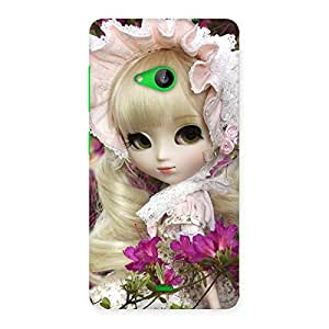 Premium Angel Look Doll Back Case Cover for Lumia 535