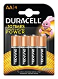 #7: Duracell Alkaline AA Battery with Duralock Technology - 4 Pieces