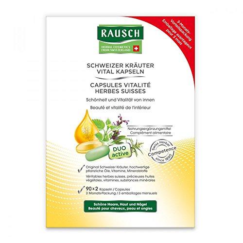 Rausch Schweizer Kräuter Vital Kapseln, 3X30X2 St