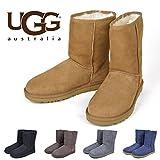 UGG Australia Classic Short - Botas para Hombre, Color marrón, Talla 40.5