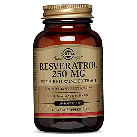 Solgar - Resveratrol - Extrait de vin rouge - 250