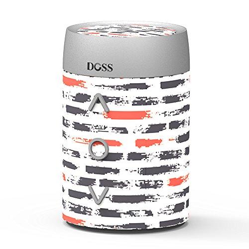 DOSS SoundBox mini Portabler Kabelloser Bluetooth 4.0 Lautsprecher mit Dreh-Lautstärkeregler & Eingebautem Mikrofon Wireless Speakers mit hervorragendem Bass für iOS und Android Geräte (Led Surround-sound-lautsprecher)