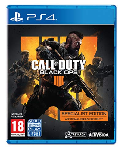Call of Duty: Black Ops 4 - Specialist Edition [Playstation 4] - Spiele Call Duty Of