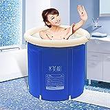 Mizii Aufblasbare Badewanne Erwachsene Falten Wanne Bad Kinder Bathe Barrel