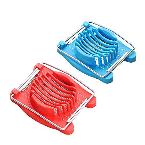 Edelstahl gekochte Eierschneider Cutter Pilz Slicer Cutter Kochen Werkzeuge