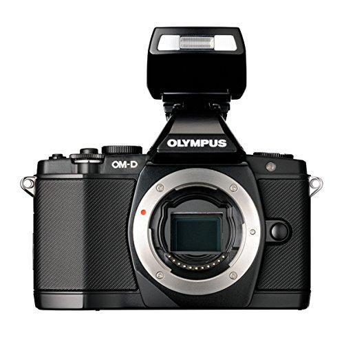 OLYMPUS OM-D OMD E-M5 black body + flash fotocamera digitale gar. POLYPHOTO