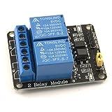 Umtmedia® 5V ou 12V 1–2-4–8-16canal module de relais pour Arduino Raspberry Pi Arm AVR DSP Pic 2 Channel 5V