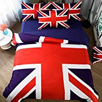 Copriletto Singolo Bandiera Inglese.Amazon It Bandiera Americana Biancheria Da Letto Tessili Per La