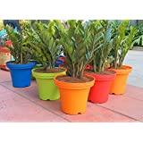 Colorful Light Weight Planters (green) 12 Inch Size