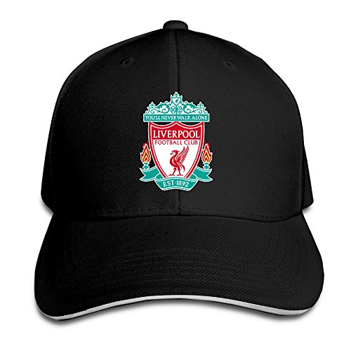 BIUBUL Liverpool F.C Logo Baseball Caps Mens Snapback Hip Hop Flat Hat -