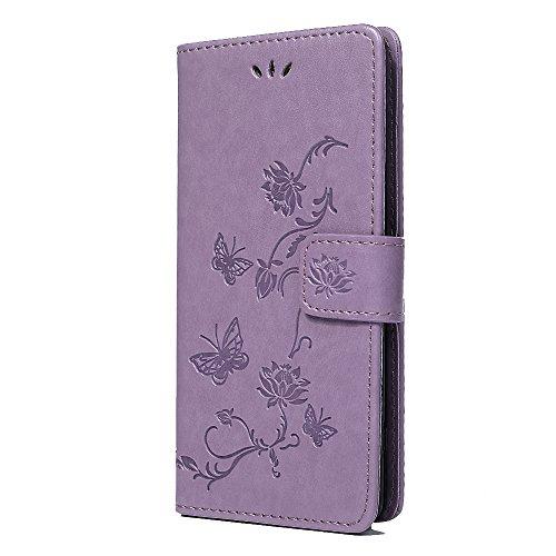 Sony Xperia XZ2Fall, stoßfest PU Leder Brieftasche