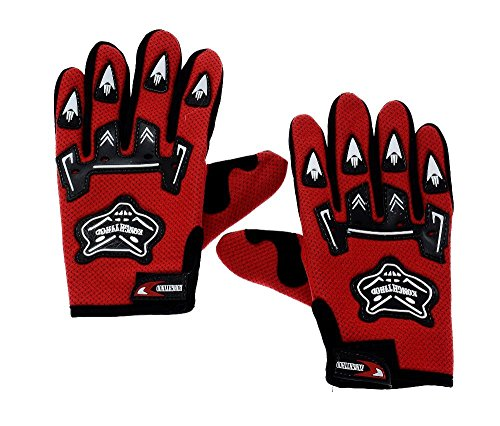 "ALPHA MAN ""Hobby and You Biking Hand "" Gloves (Red)"