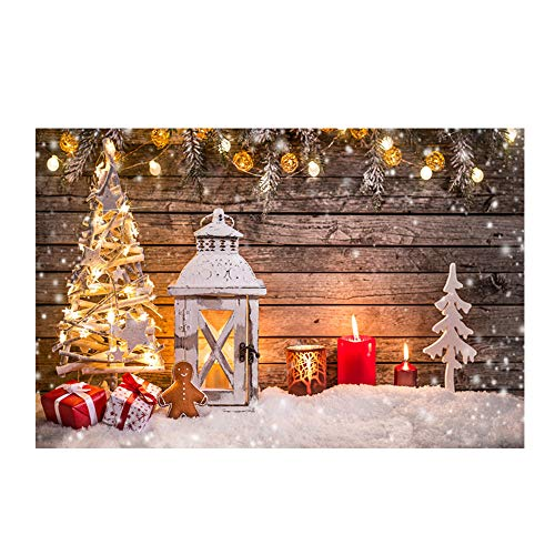 Sayla Weihnachten Dekoration Weihnachten Fußmatte Weihnachten Hirsch im Schnee Türmatte Küchenmatte Willkommen Fußmatten Indoor Home Teppiche Dekor 40x60CM (G)