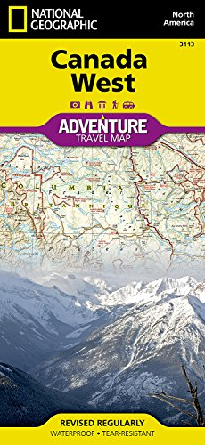 Canada West: Travel Maps International Adventure Map