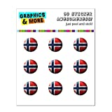 Drapeau de la Norvège de football Soccer Ball Futbol Home Button Stickers pour Apple...