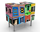 Apalis 53025 Waschbeckenunterschrank Fenster der Welt, 60 x 55 x 35 cm