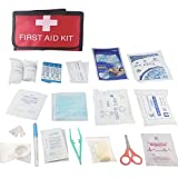 First Aid Kit-Anano First Aid Kit Bag. Packed With Hospital Grade Medical Supplies